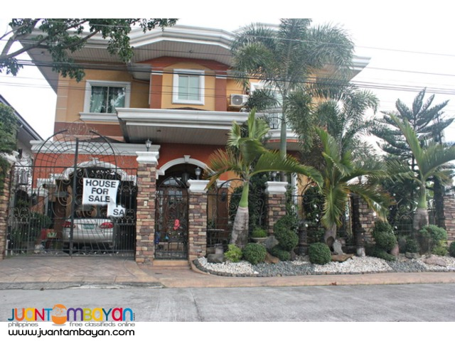 Lovely 2 Storey House at Mabalacat for Sale