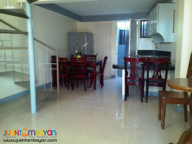For Rent Furnished Loft Type Apartment in Mandaue City Cebu - 1BR