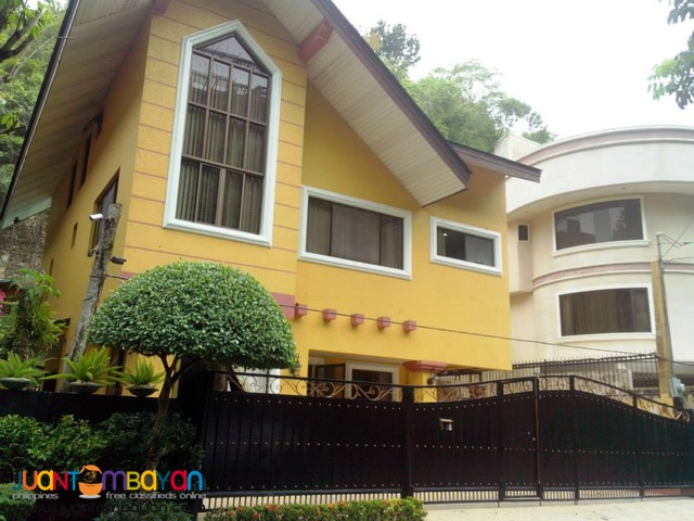 For Rent Unfurnished House w/pool in Banilad Cebu City - 5BR