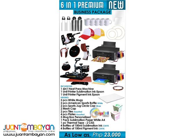 Mugs Printing Business Package