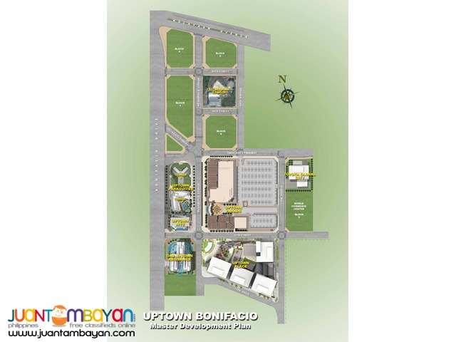 Condo for Sale in Uptown Fort Bonifacio Global City Taguig