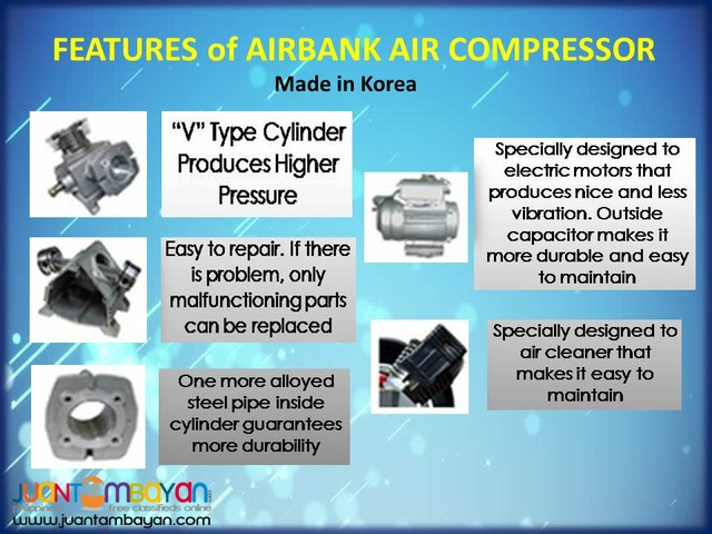 AIRBANK Air Compressor 3.5HP 40L