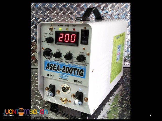 ASEA DC TIG 200 Inverter Type Welder