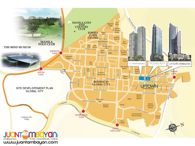 Megaworld Condos for Sale in Fort Bonifacio Global City Uptown