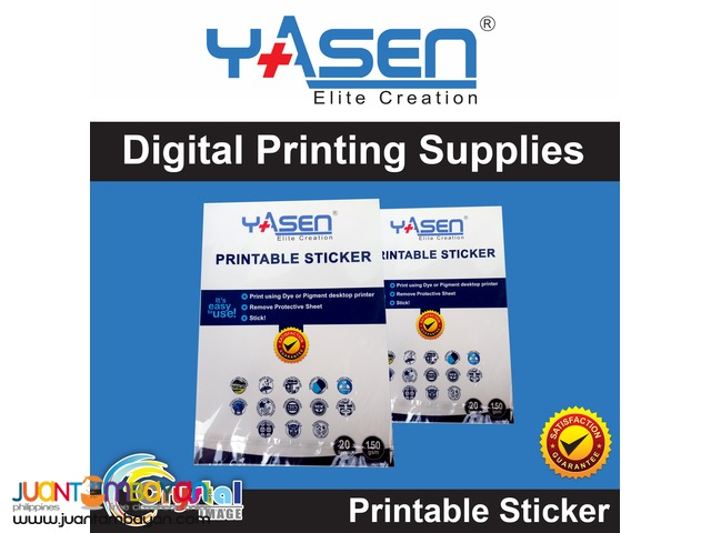Yasen digital printing supplies