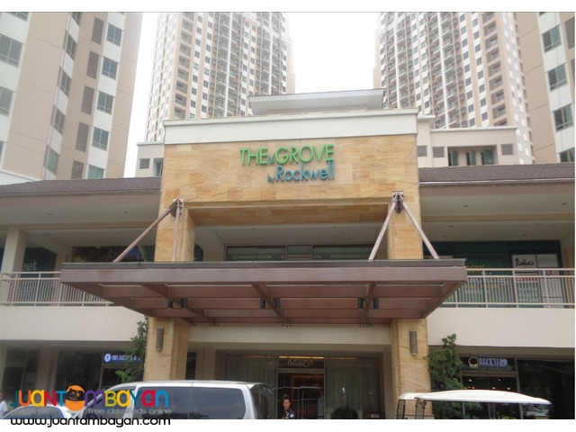 FOR SALE!!!! The Grove by Rockwell -2 Bedrooms Condo in C5,Pasig City