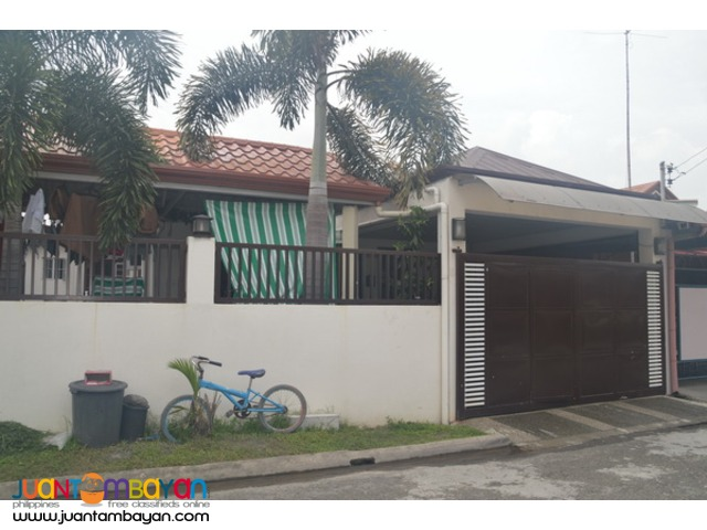Bungalow for Sale at San Fernando City!