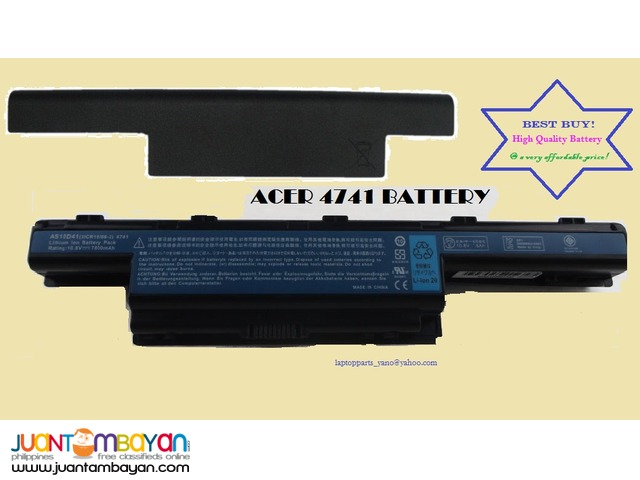 ACER 4741 Battery Replacement
