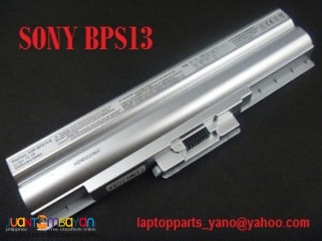 SONY VAIO BATTERY REPLACEMENT