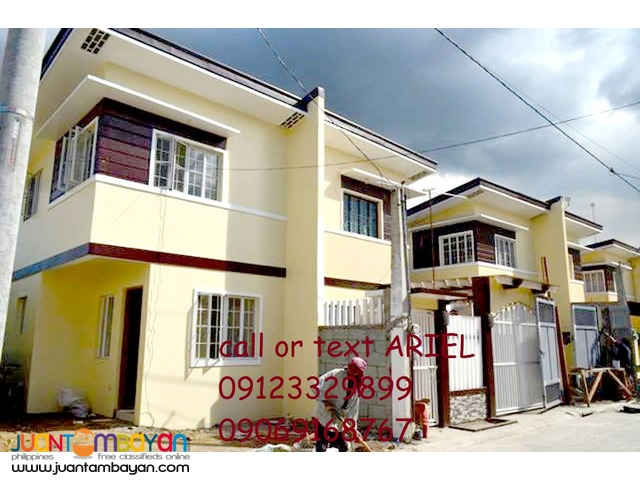 Low DP House & Lot 2br Townhouse at Birmingham Alberto