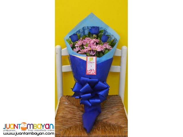 Blue Roses - Send Flowers to Davao