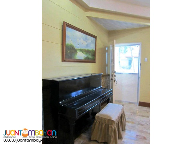 For Rent Furnished House in Talamban Cebu City - 5 Bedrooms