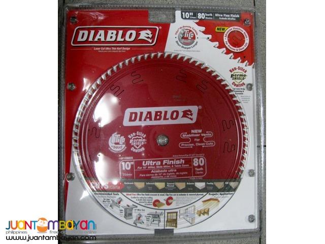 Freud D1080X Diablo 10-inch by 80-tooth ATB Finish Saw Blade