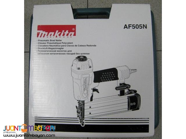Makita AF505N 5/8-inch to 2-Inch Brad Nailer