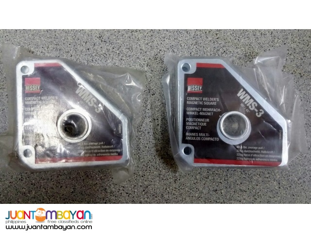 Bessey WMS-3 Magnetic Hold Down Square (Pair)