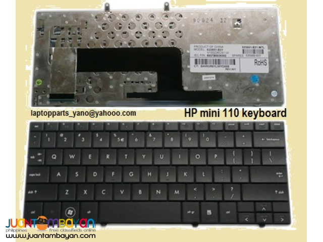 HP mini 110-1000 Keyboard