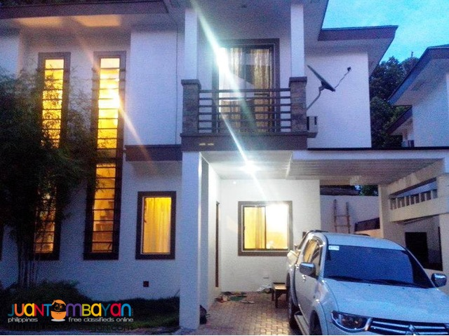 30k 4BR Furnished House For Rent in Lahug Cebu City
