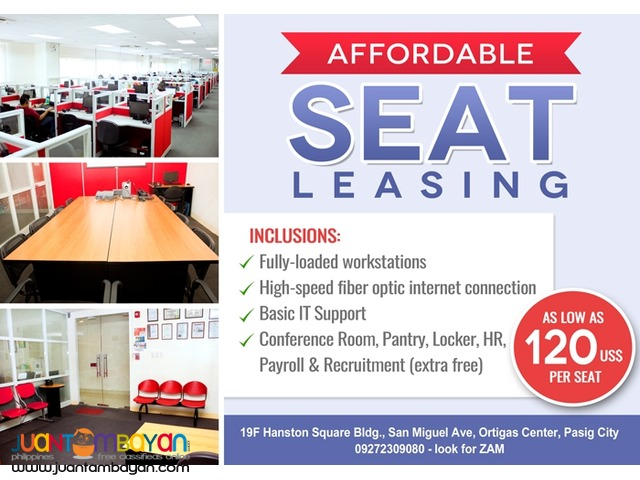 Seat Lease or Seat Leasing for BPO
