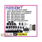 Korea CCTV 16Channel AHD 720P Package