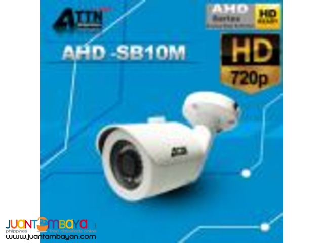 Korean CCTV AHD-SB10M 720P 1mp Bullet Camera