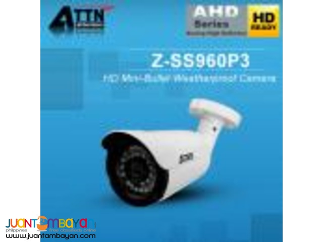 Korean CCTV Z-SS960P3 AHD 960P 1.3mp Bullet Camera