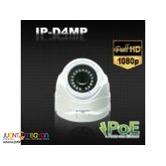 Korean CCTV ATTN IP-D4MP 4Megapixel IP Dome Camera