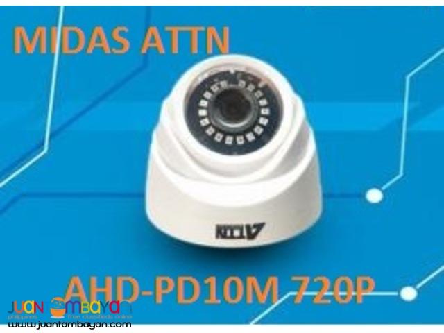 Korean CCTV AHD-PD10M 720P 1mp Dome Camera
