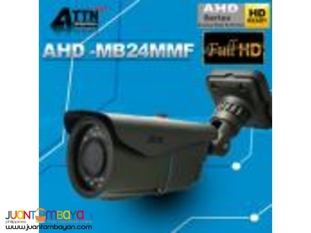 Korean CCTV AHD-MB24MMF 1080P 2.4mp Bullet Camera