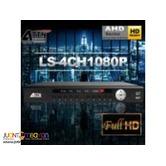 Korean CCTV 4ch 1080p ATTN LS-4CH1080P HYBRID DVR