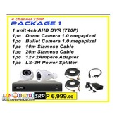 Korea CCTV 2Camera AHD 720P 1MP Package