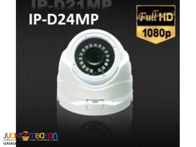 Korea CCTV IP-D24MP 2.4MP IP Dome Camera