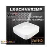 Korean CCTV ATTN LS-8Ch 1080P 8Channel 2MP NVR