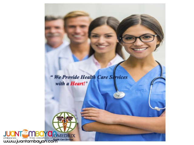 We Provide Health Care Services