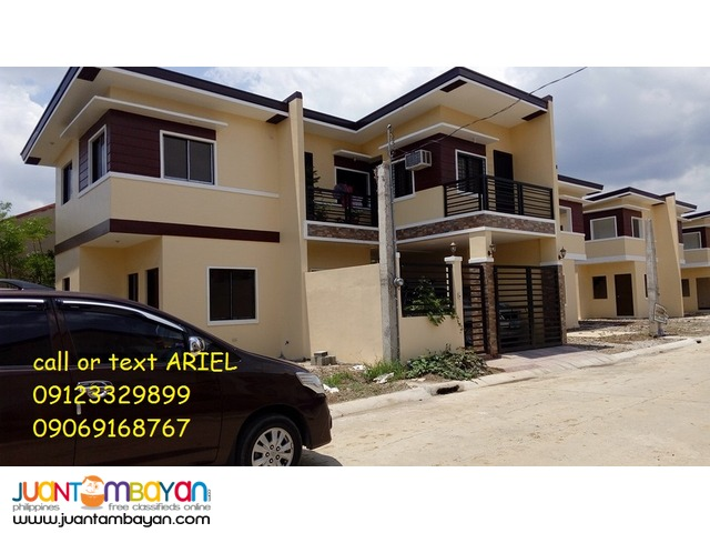 10%DP Pag-ibig Townhouse at Birmingham Alberto