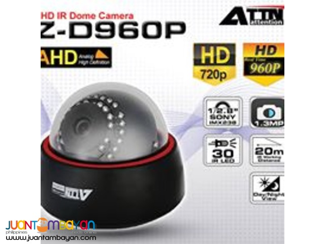 AHD Z-D960P Dome Camera