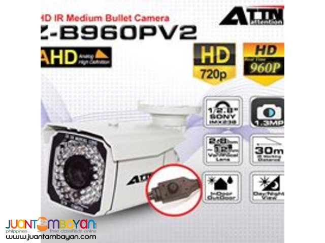 AHD Z-B960PV2 Box Type Camera