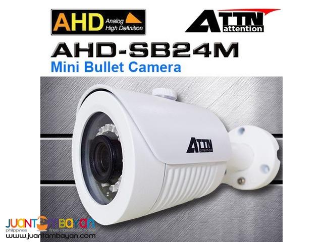 AHD-SB24M (2.4MegaPixel) Small Bullet Camera