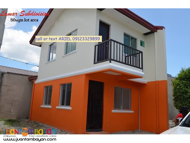 Townhouse at LA MAR Subdivision ready for occupancy