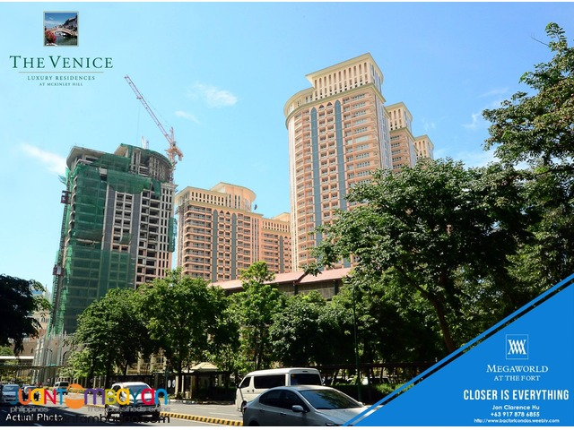 The Venice Condo in McKinley Hill Taguig for Sale