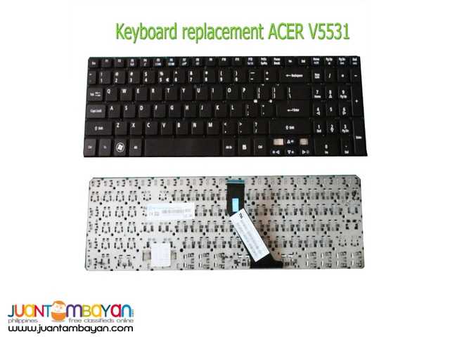 ACER V5-531 Keyboard Replacement