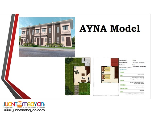 Brandnew House in Northridge View - Ayna Model