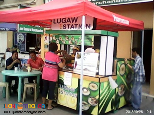 foodcart franchising, c8 lugaw station