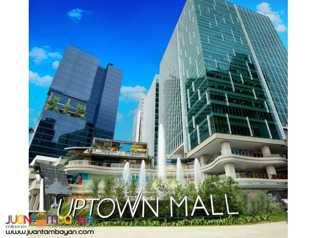 1-3 BR Megaworld Condo for Sale in BGC Uptown Fort Bonifacio