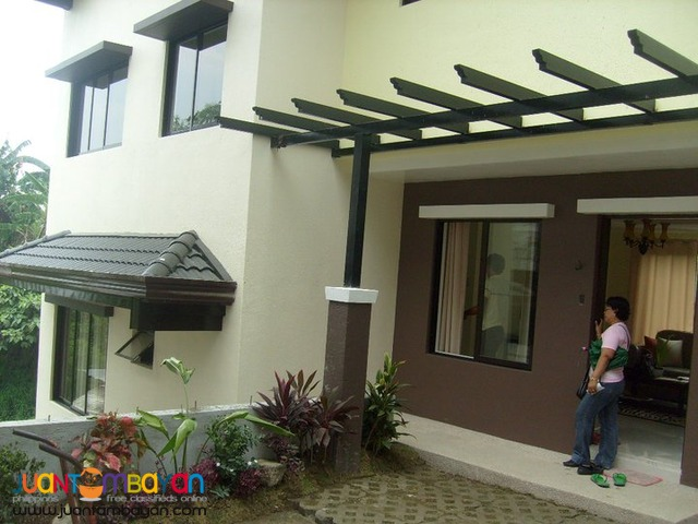 House and lot in Loyola Grand Villas