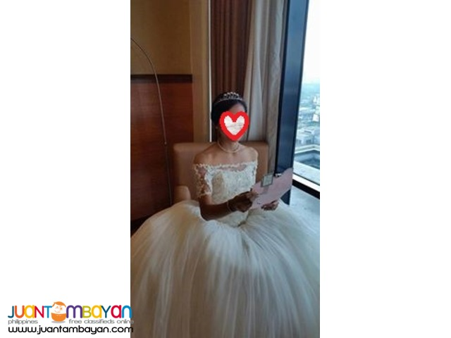 Affordable Elegant Wedding Ball Gown for RENT
