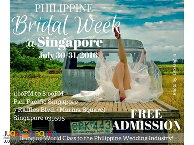 Philippine Bridal Week-Singapore