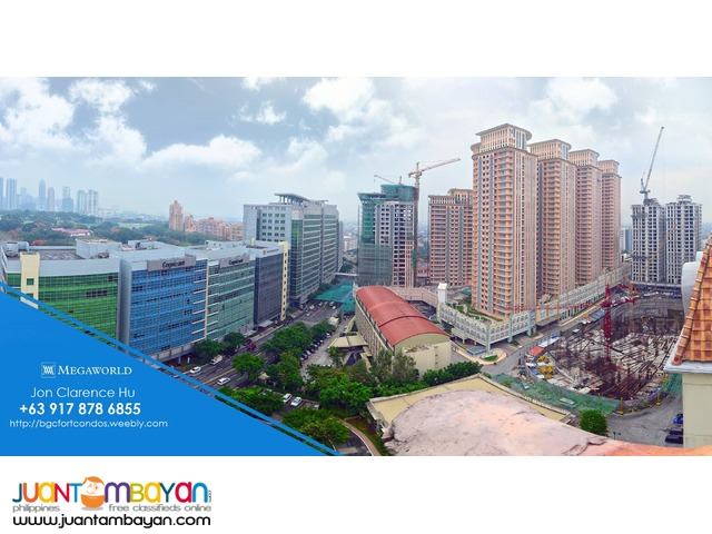 Megaworld Condos in Taguig McKinley Hill for Sale near BGC The Fort