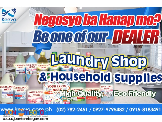 Be a Dealer of Laundry Cleaning Products, Detergent Powder