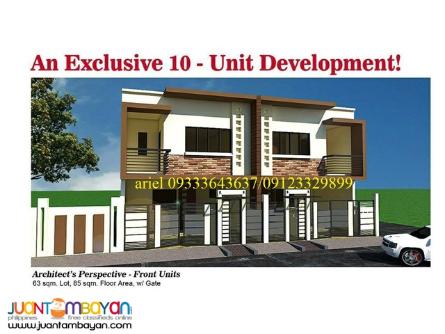 Savour Urban Living at IRENEA 3BR Townhouse RFO