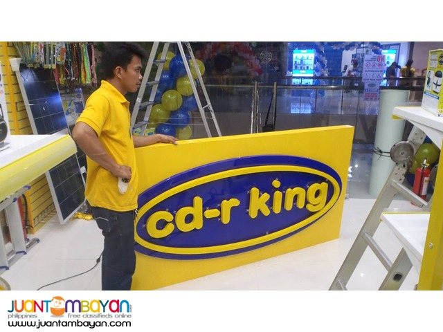 Signage Maker and Fabricator, Sticker, Tarpaulin and T-shirt Printing